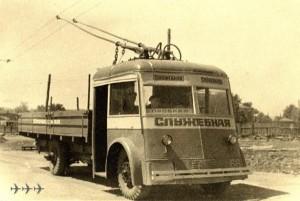 троллейбус старый фото