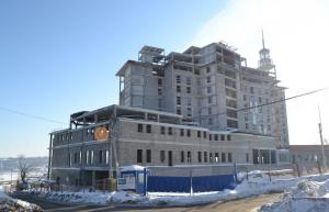 Недостроенный отель Одис Чебоксары